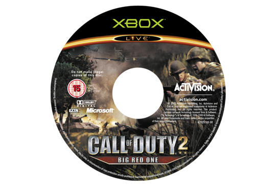 Call of Duty 2: Big Red One Standard and Collectors Edition